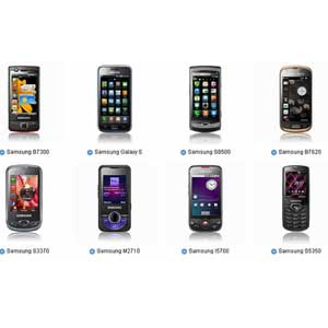 Samsung Phone Models List