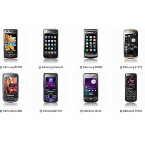 Samsung Phone Models List