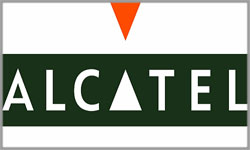 Alcatel Official Logo of the Company