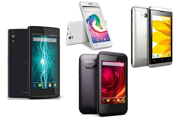 Lava Phone Models List