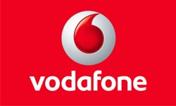 Vodafone Official Logo of the Company