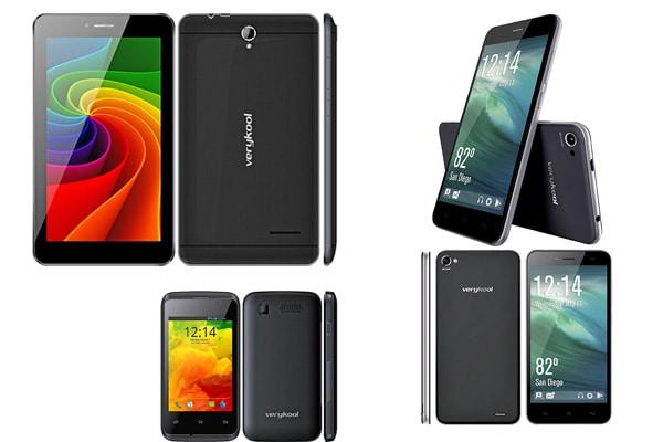 Verykool phone models list