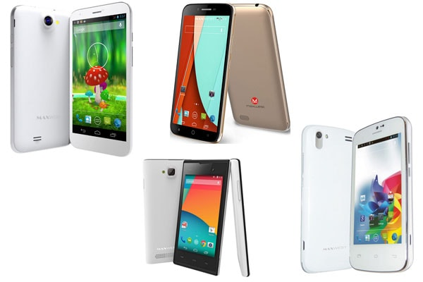 Maxwest list of phone models