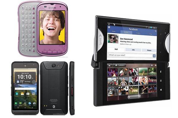 kyocera phone models list
