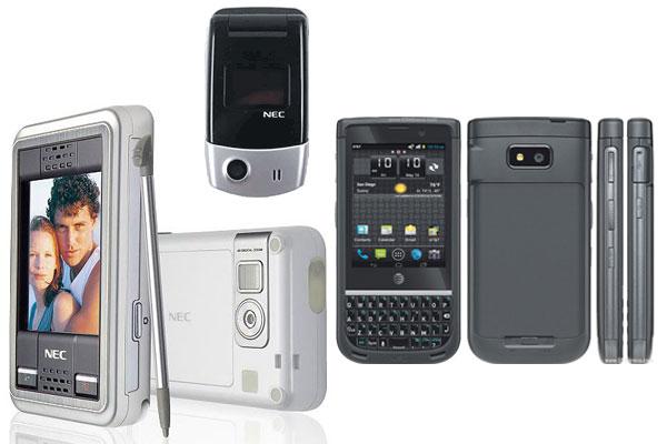NEC phone models