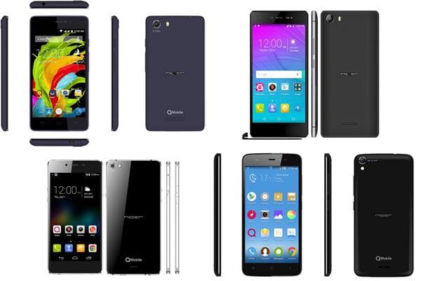 QMobile phone models