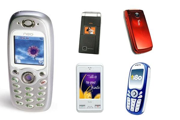 Telit phone models list