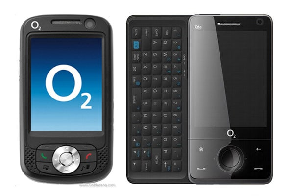 o2 phone models list