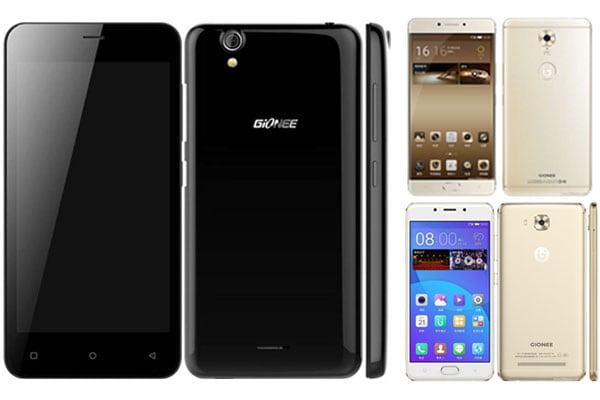 Gionee Phone Models List