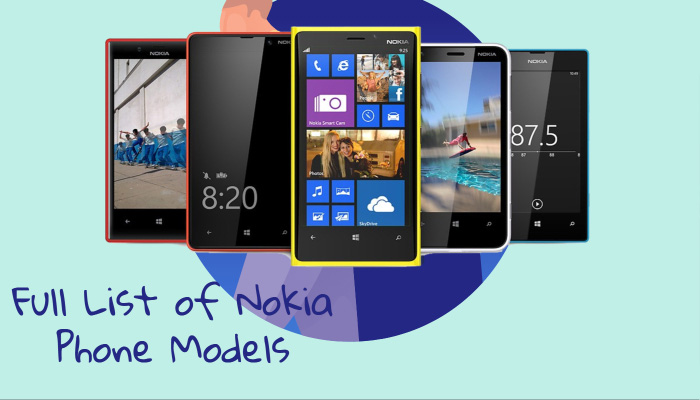 Full List of Nokia Phone Models